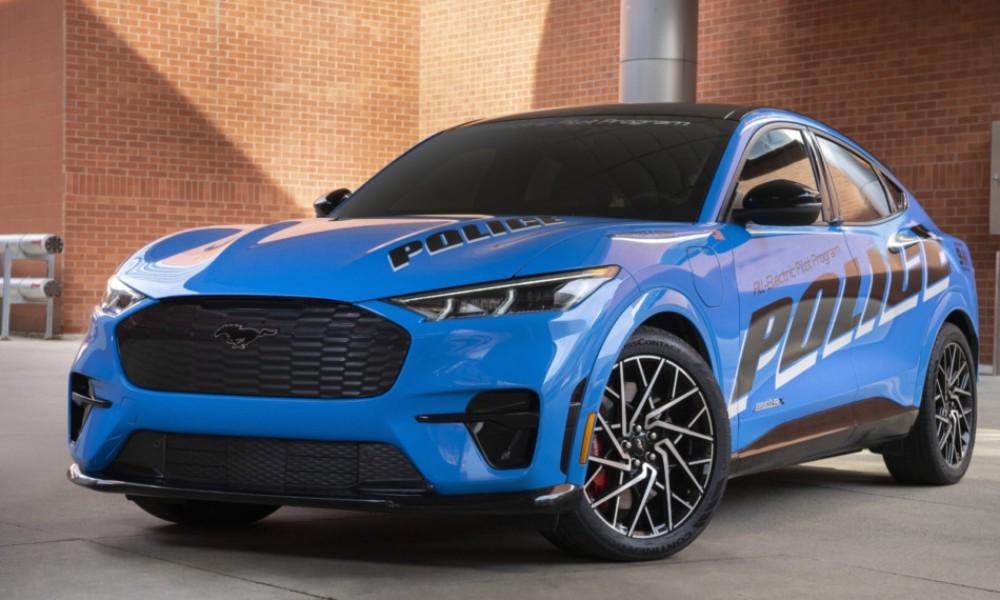 Έρχονται τα ηλεκτρικά περιπολικά όπως το Ford Mustang Mach-E